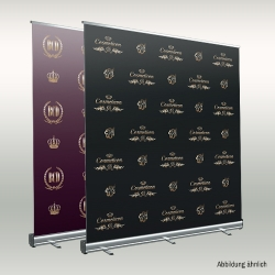 Roll-Up Fotohintergrund