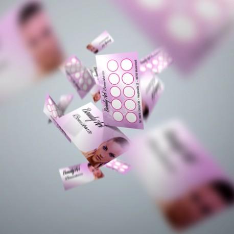 Bonuskarten Komplettset (1x Stempel mit 100x Bonuskarten)