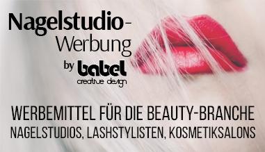 Werbemittel für die Beautybranche